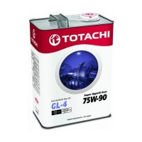 TOTACHI Super Hypoid Gear Oil Semi-Synthetic GL-4 75W90, 4л 4562374692220